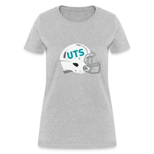 Women's UTS Gridiron Helmet Regular T-shirt - Grey - Women's T-Shirt
