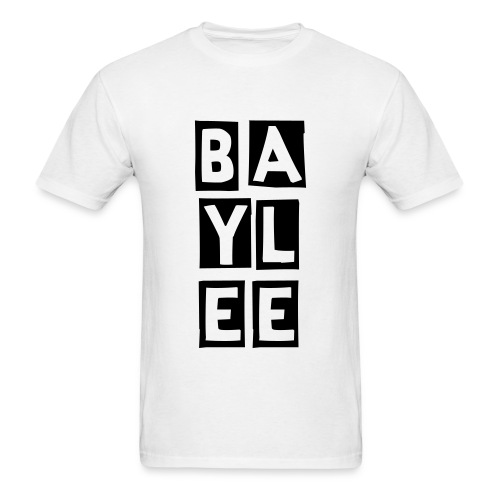 Baylee Stacked Tee Inverted  - Men's T-Shirt