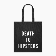 Death To Hipsters Bags & backpacks