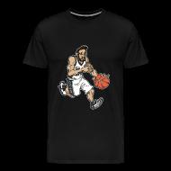 T-Shirts ~ Men's Premium T-Shirt ~ Wally Black and White Tww