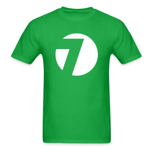 7 Hills Logo Green Tshirt - Men's T-Shirt
