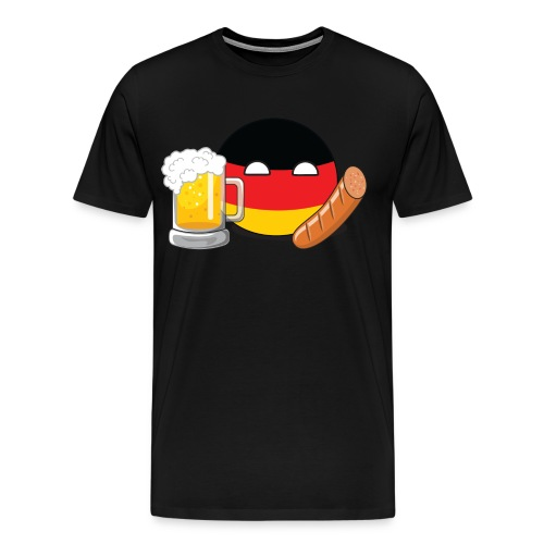 GermanyBall I - Men's Premium T-Shirt - Men's Premium T-Shirt