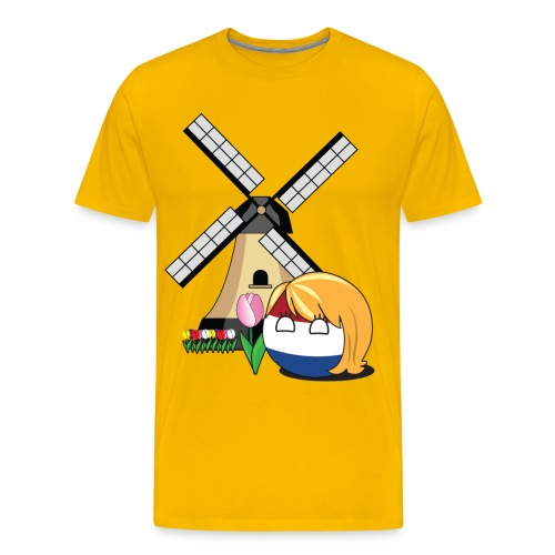 NetherlandsBall II - Men's Premium T-Shirt - Men's Premium T-Shirt