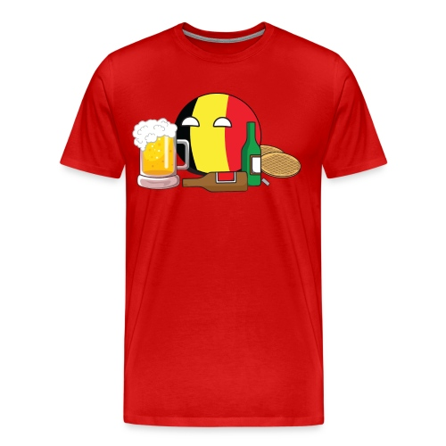 BelgiumBall I - Men's Premium T-Shirt - Men's Premium T-Shirt