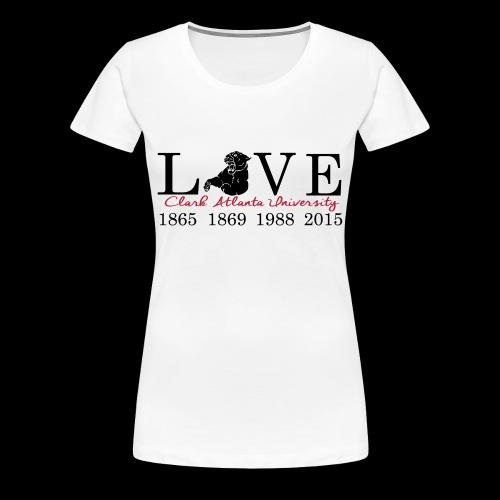 Love My CAU - White - Women's Premium T-Shirt