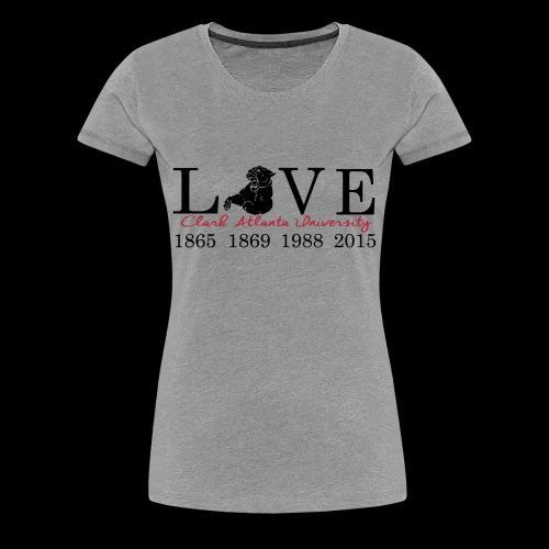 Love My CAU - Heather Grey - Women's Premium T-Shirt