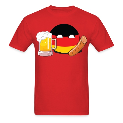 GermanyBall I - Men's T-Shirt - Men's T-Shirt