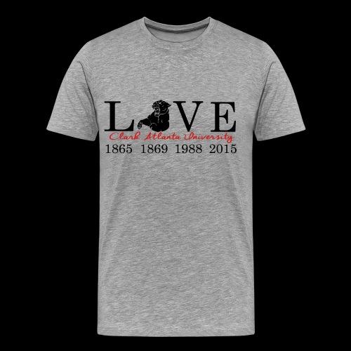 Love My CAU - Heather Grey - Men's Premium T-Shirt