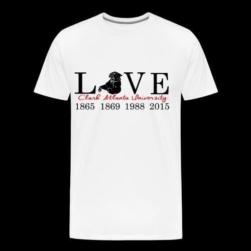Love My CAU - White - Men's Premium T-Shirt