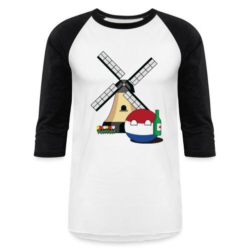 NetherlandsBall I - Men's Baseball T-Shirt - Baseball T-Shirt