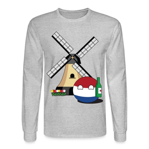 NetherlandsBall I - Men's Long Sleeve - Men's Long Sleeve T-Shirt
