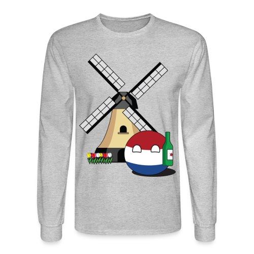 NetherlandsBall I - Men's Long Sleeve - Men's Long Sleeve T-Shirt