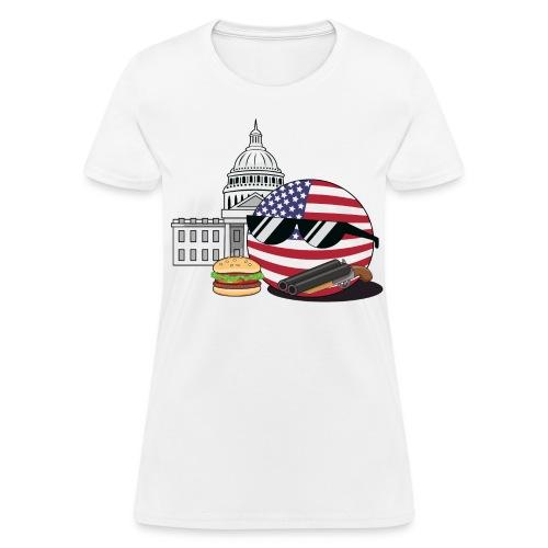 USABall I - Women's T-Shirt - Women's T-Shirt
