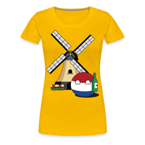 NetherlandsBall I - Women's Premium T-Shirt - Women's Premium T-Shirt