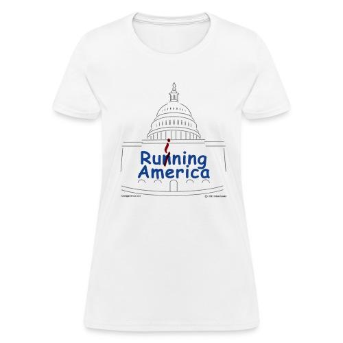 Ladies RuiningAmerica t-shirt - Women's T-Shirt