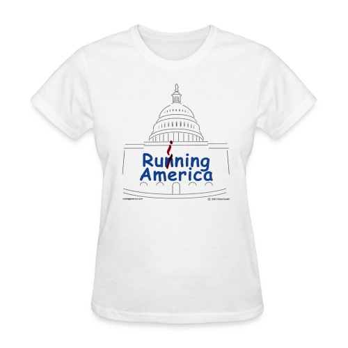 Ladies RuiningAmerica t-shirt - Women's T-Shirt