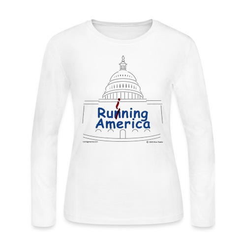 Ladies RuiningAmerica t-shirt - Women's Long Sleeve Jersey T-Shirt
