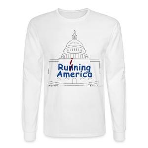Mens RuiningAmerica t-shirt - Men's Long Sleeve T-Shirt