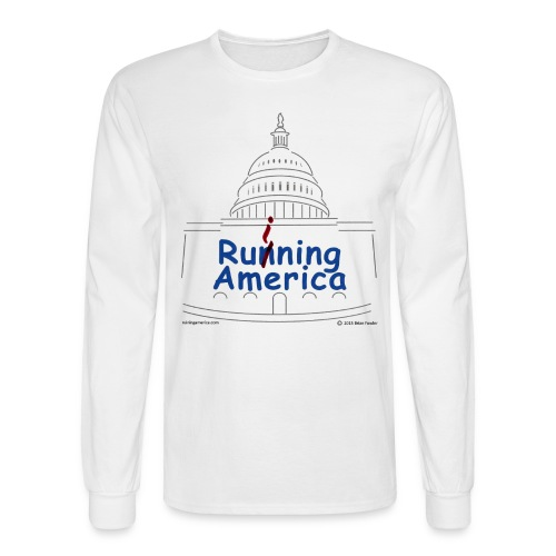 Mens RuiningAmerica t-shirt - Men's Long Sleeve T-Shirt