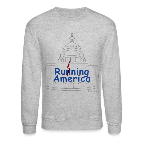 Mens RuiningAmerica sweatshirt - Crewneck Sweatshirt