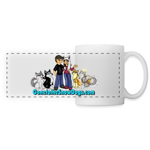 Snow Dogs Vlogs Mug - Panoramic Mug