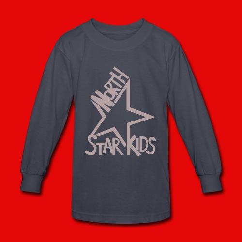 Kids - North Star Kids Classic Long-sleeve (Blue) - Kids' Long Sleeve T-Shirt
