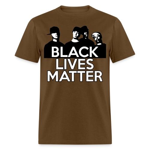 Black Lives Matter - 4 Men - Men's T-Shirt
