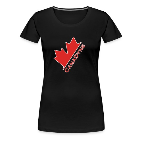 Womens Premium CanaDyne T-shirt w/ Alt Logo - Women's Premium T-Shirt