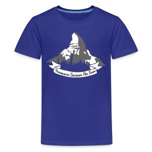 Kid's Matterhorn - Kids' Premium T-Shirt