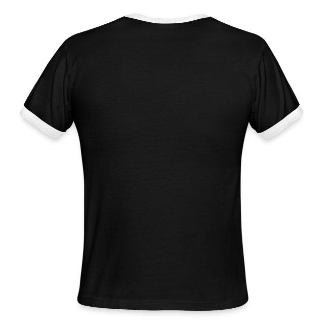 Aliens Men's Ringer T-Shirt by American Apparel