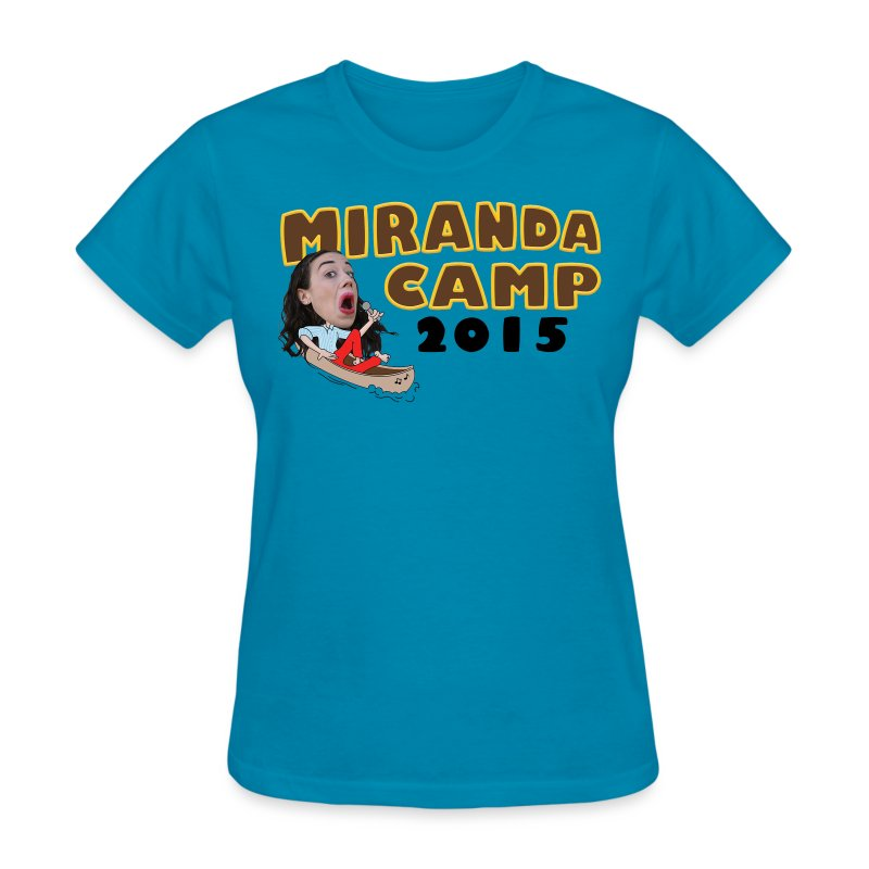 Limited Edition! Miranda Camp (front & back design) - Women's T-Shirt