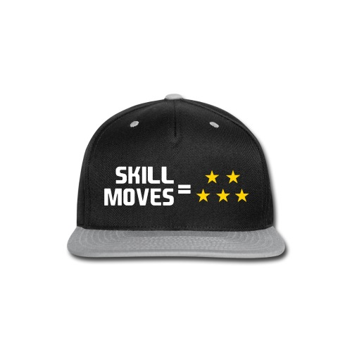 Skill Moves = 5 Stars | Snapback - Snap-back Baseball Cap