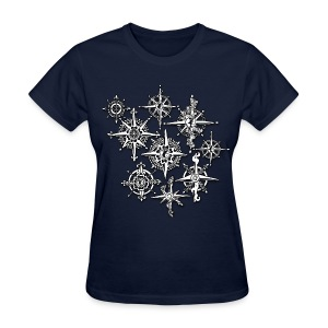 Neo-Henna Compasses - Women's T-Shirt