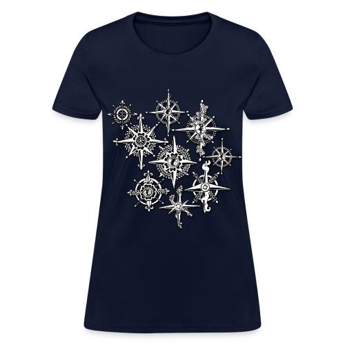 Neo-Henna Compasses - Women's T-Shirt