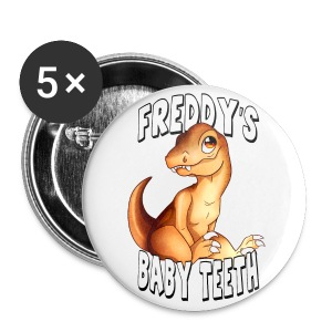 Freddy's Baby Teeth - Large Buttons