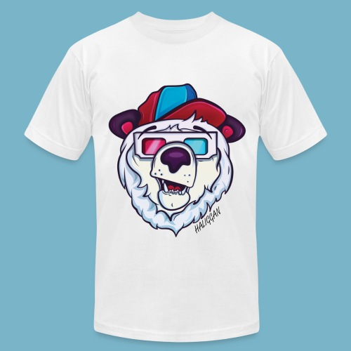 Cool polar bear  - Men's  Jersey T-Shirt