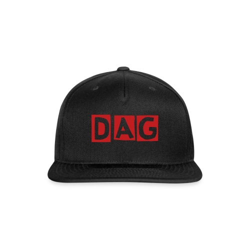DAG HAT - Snap-back Baseball Cap