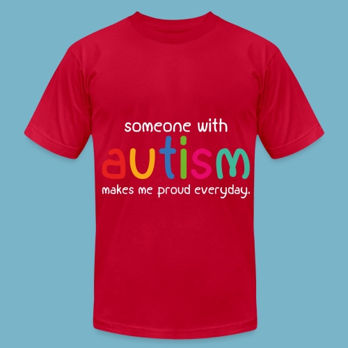 Autism - Men's Fine Jersey T-Shirt