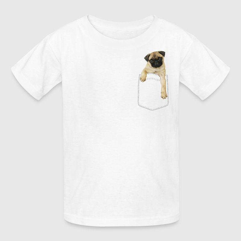 Dog in pocket Kids' Shirts - Kids' T-Shirt