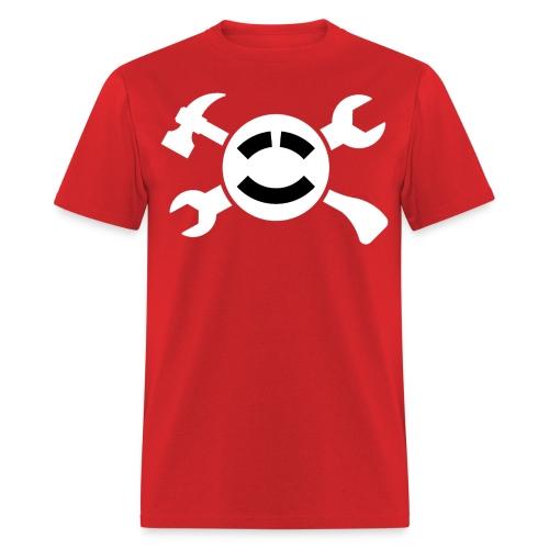 (Mens) Simple Adventure Builder Shirt  (Still increases your stats!) - Men's T-Shirt
