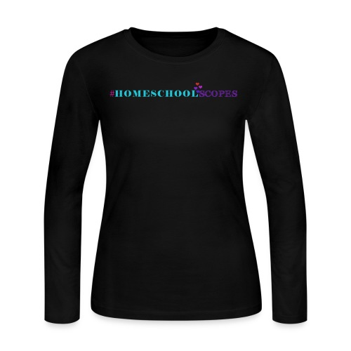 Homeschool Scopes Long-Sleeve Shirt - Women's Long Sleeve Jersey T-Shirt