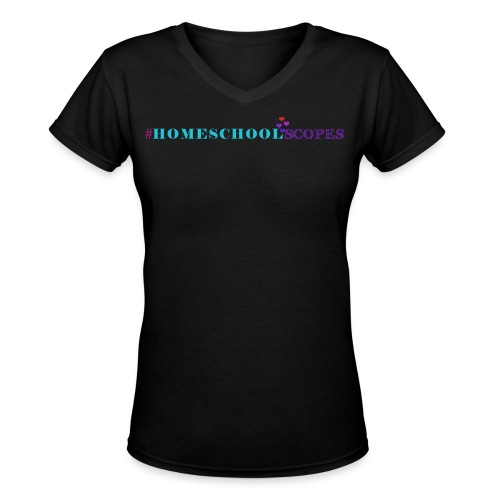 Homeschool Scopes V-Neck T-Shirts - Women's V-Neck T-Shirt