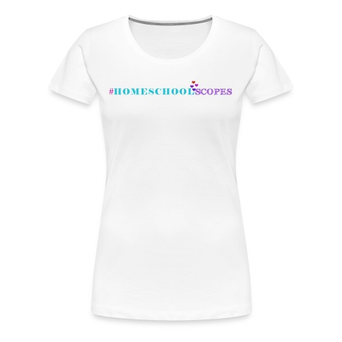 Homeschool Scopes Crew-Neck T-Shirt - Women's Premium T-Shirt