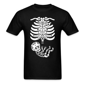15 Sugar Skull Skeleton Maternity - Men's T-Shirt