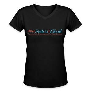 PeriSistersinChrist V-Neck T-Shirt - Women's V-Neck T-Shirt