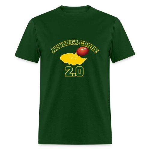 Green ab crude t-shirt - Men's T-Shirt