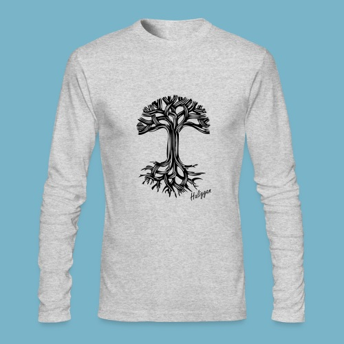 Haliggan Abstract tree - Men's Long Sleeve T-Shirt by Next Level