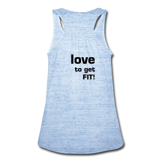 The Struggle is Real flowy tank