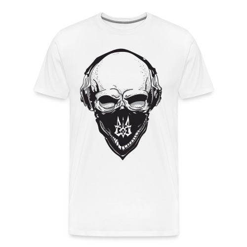 ukrain skull - Men's Premium T-Shirt