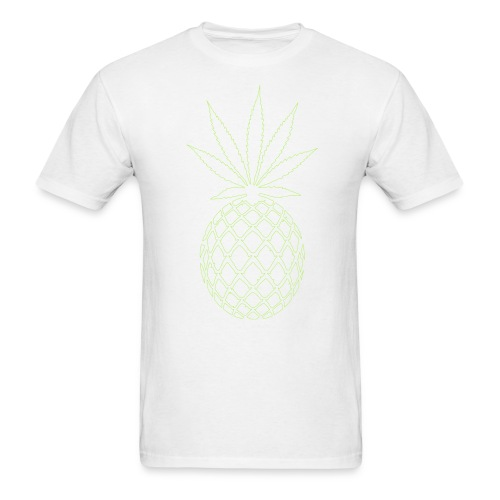 Limited Edition Men's White Pineapple Express Crew - Men's T-Shirt